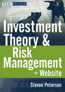 Investment Theory and Risk Management, + Website