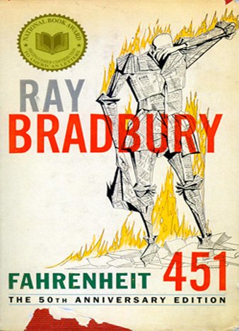the impact of books to guy montag in fahrenheit 451 a novel by ray bradbury Guy montag – who comes to  i recorded hbo films' new television version of ray bradbury's classic 1953 novel,  tags fahrenheit 451 hbo films ray bradbury.