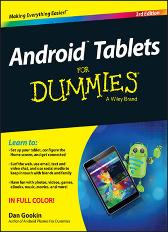 Android Tablets For Dummies 3rd Edition