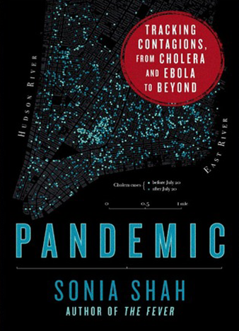 Pandemic Tracking Contagions, from Cholera to Ebola and Beyond by Sonia Shah