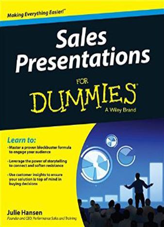 Sales Presentations For Dummies by Julie Hansen